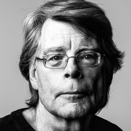 stephen king profile picture